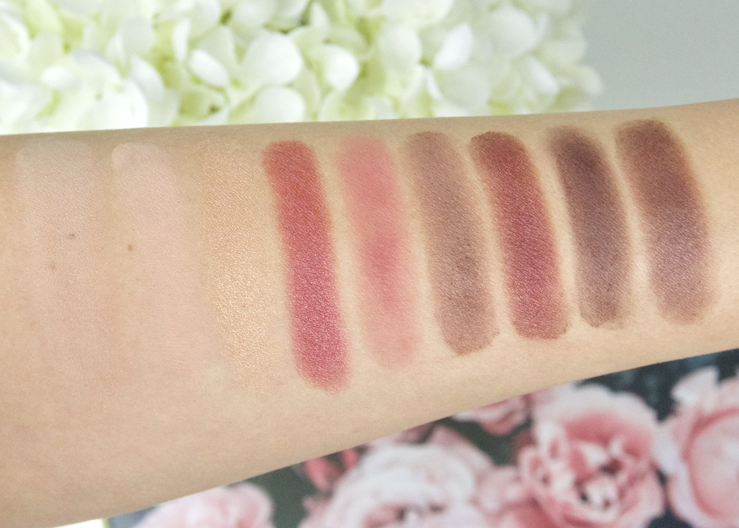 Dior Rosewood Neutrals Eye Palette swatches