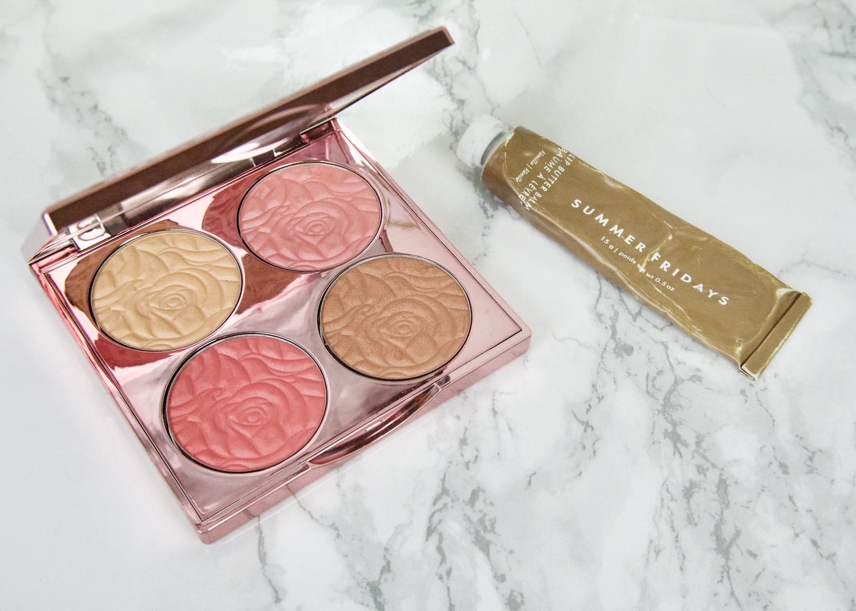 make-up favorieten lente By Terry CC palette, Summer Fridays lip butter balm