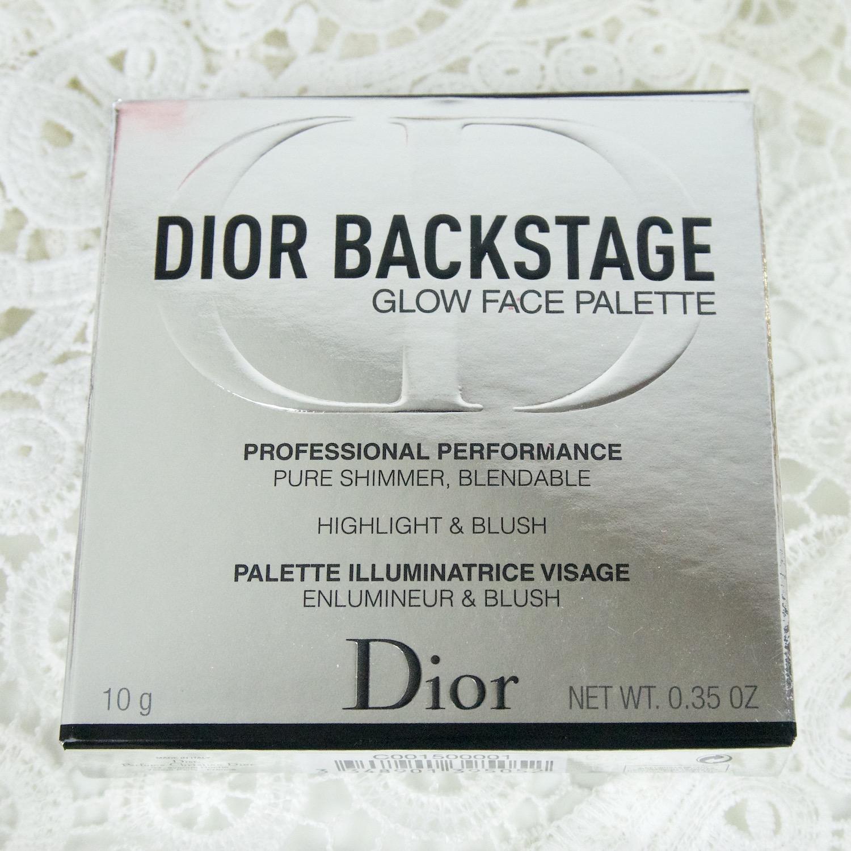 Dior Backstage Glow Face Palette 001